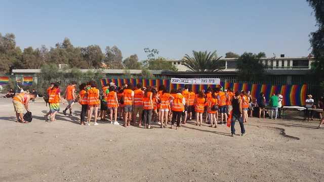 מצעד הגאווה בבאר שבע (צילום: אוריאל גור דוד)