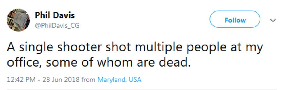 ירי במרילנד ארה