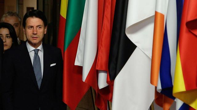 ג'וזפה קונטה (צילום: AFP)