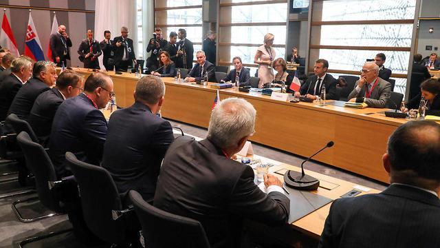 פגישת האיחוד האירופי בבריסל (צילום: AFP)