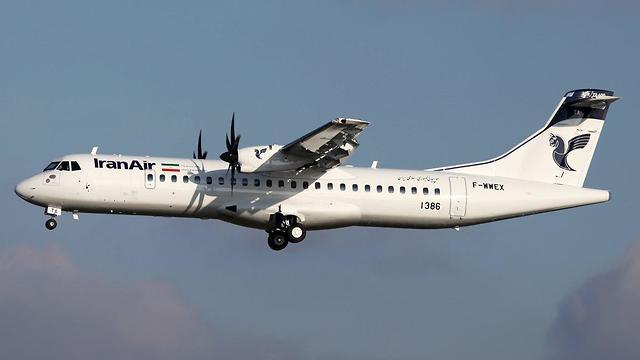 מטוס חברת ATR (צילום: T.Laurent)