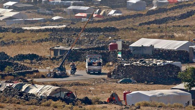 Refugee camp for Syrians fleeing Deraa (Photo: AFP)