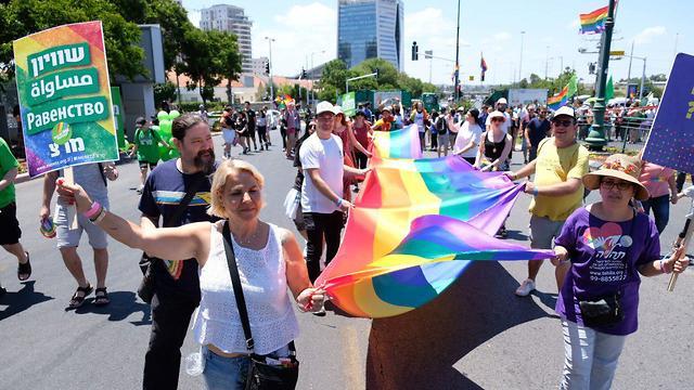 מצעד הגאווה בראשון לציון (צילום: שאול גולן)