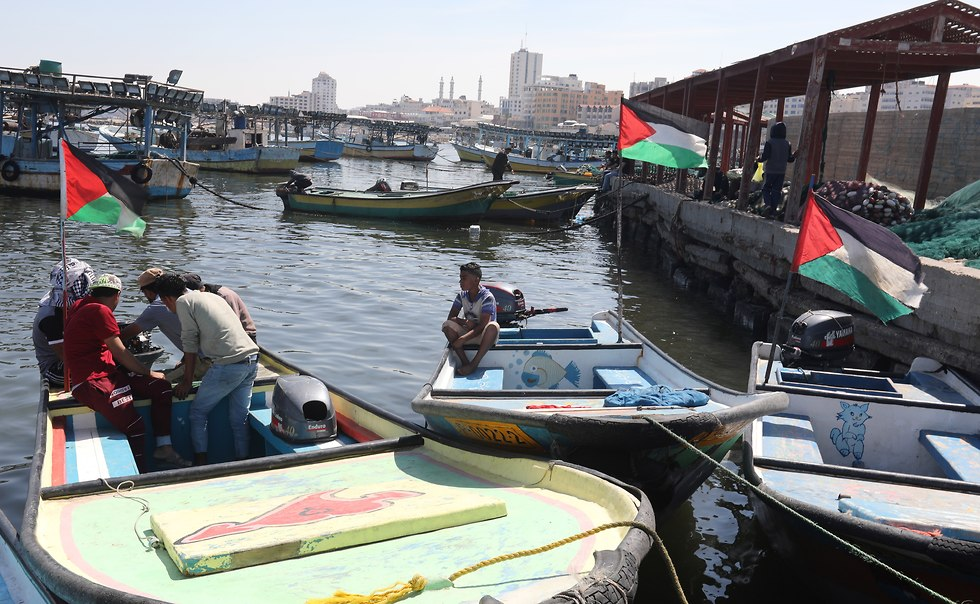 Gaza port (Photo: EPA)