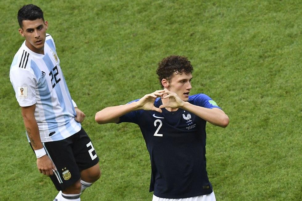 Франция - Аргентина. Фото: AFP