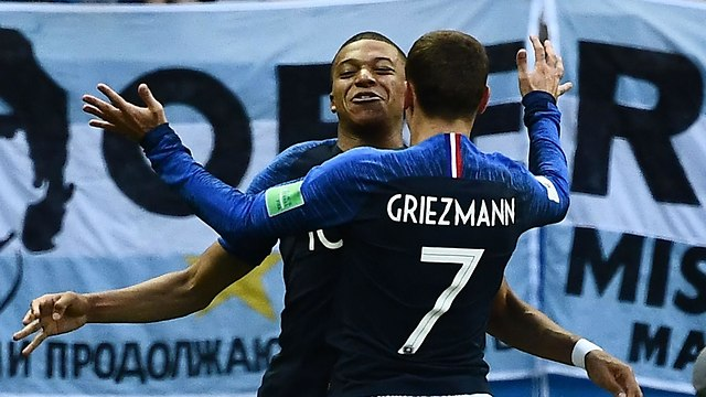 Франция торжествует. Фото: AFP