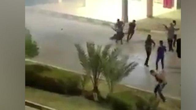 ירי כוחות משטר איראני איראן בסיג' משמרות המהפכה ח'וראמשהר מחמרה מחאה סנקציות ()
