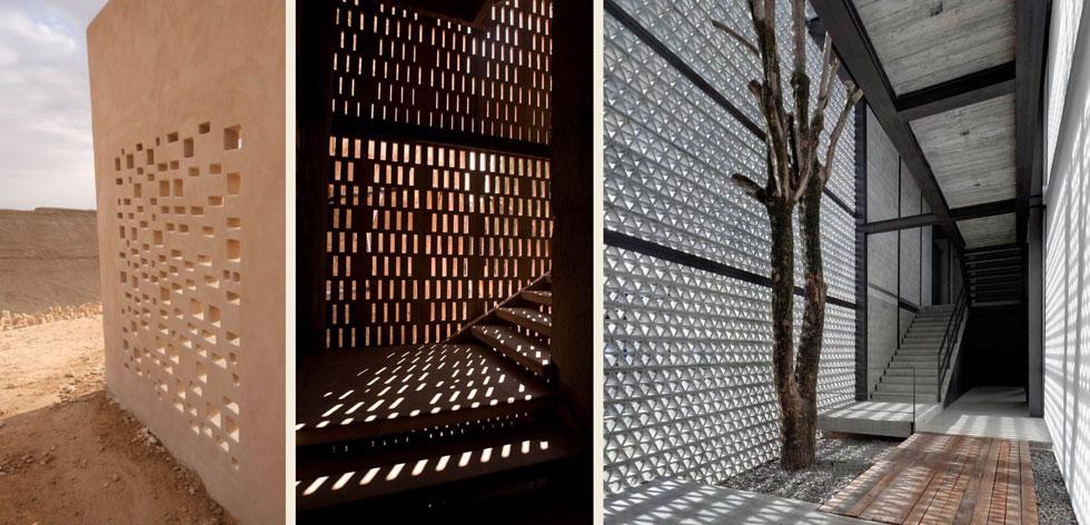 """הצללות באמצעות משרביות יהיו חלק מהקונספט האדריכלי-עיצובי. ''ניסינו לקחת מהתרבות הבדואית מבלי ליפול לקלישאות של אדריכלות מוסלמית'', אומרות המתכננות (באדיבות """"פלסנר אדריכלים"""")"""