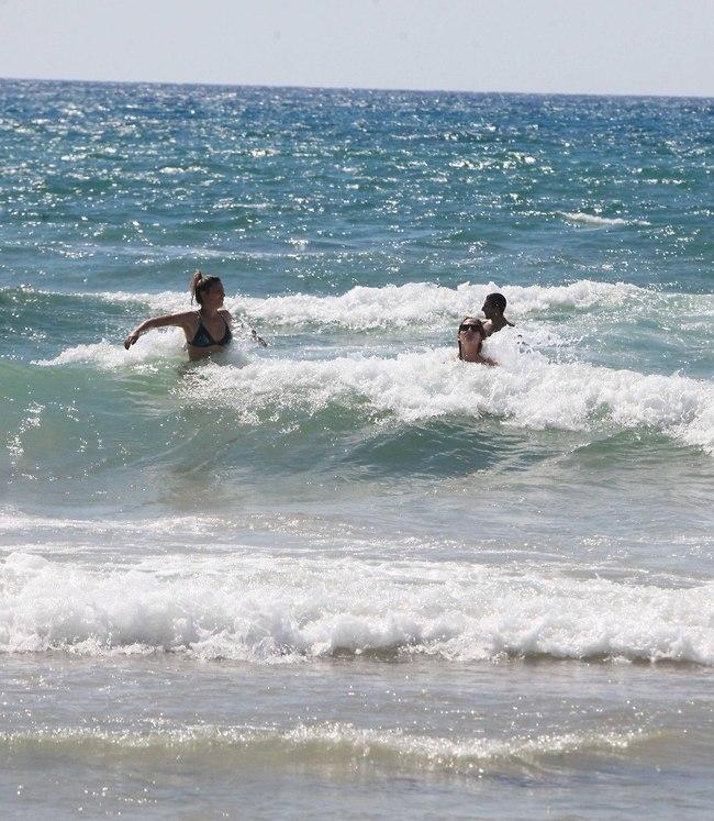 לפעמים הים שקט ואין גלים? לא הפעם! (צילום: מוטי לבטון)