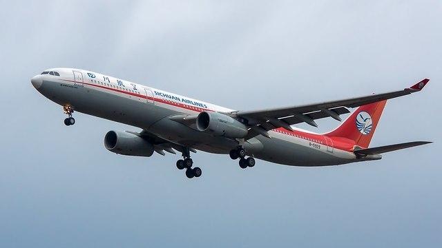 מטוס סצ'ואן איירליינס (צילום: shutterstock)