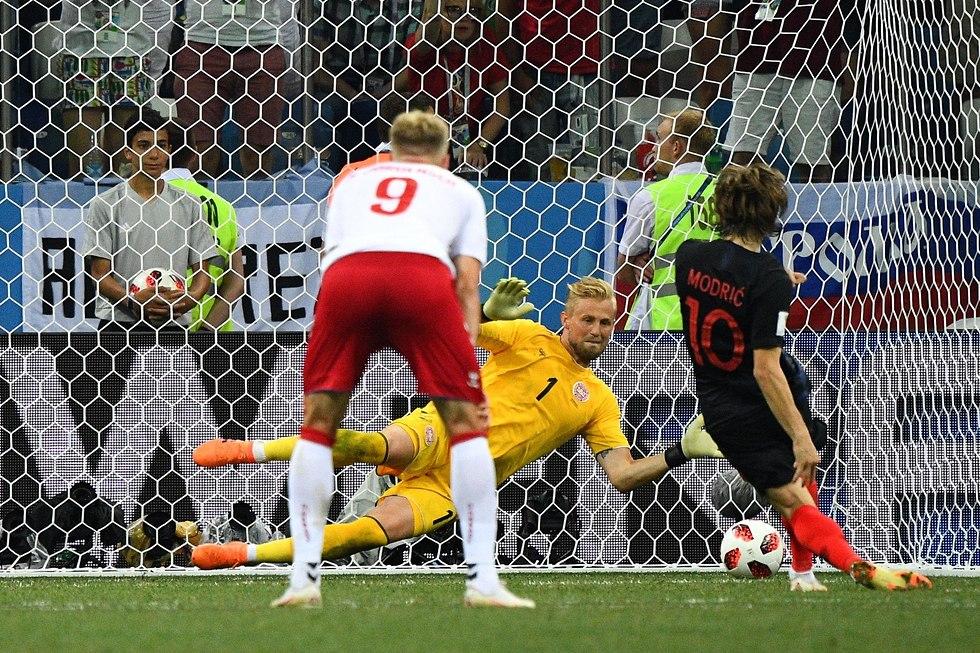 קרואטיה דנמרק (צילום: AFP)