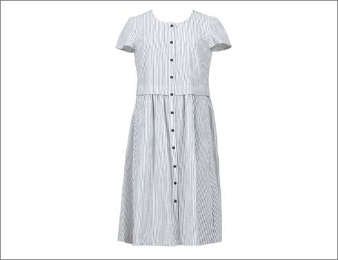 שמלת פסים, 690 שקל  (צילום: דנה קרן)