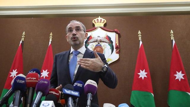 Jordan's Foreign Minister Ayman Safadi  (Photo: EPA)