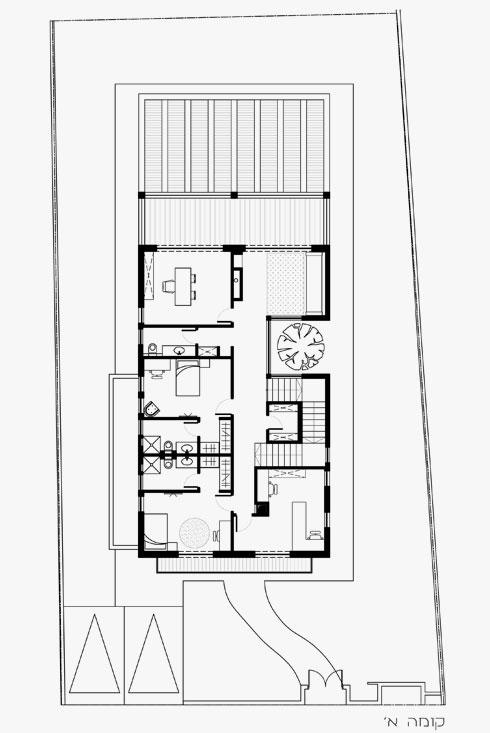 תוכנית הקומה השנייה  (תוכניות: עינב גלילי)