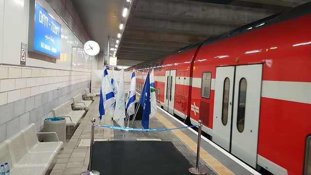 תחנת רכבת רעננה (דוברות רכבת ישראל)