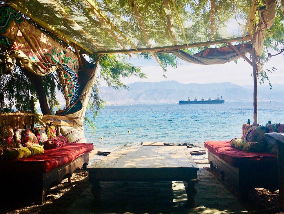 מסעדות חוף (צילום: לין לוי)
