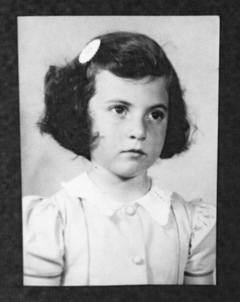 נורית ילן (לימים רוזן). אחייניתה של מרים ילן שטקליס. היום בת 81. (צילום: אלבום פרטי)