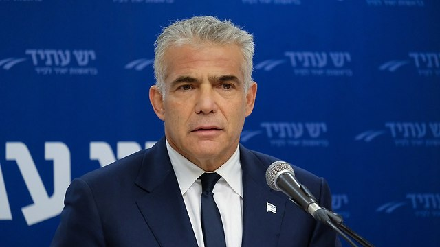 Yesh Atid Chairman Yair Lapid  (Photo: Yoav Dudkevitch)