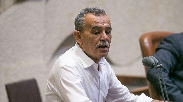 MK Jamal Zahalka  (Photo: Ohad Zwigenberg)