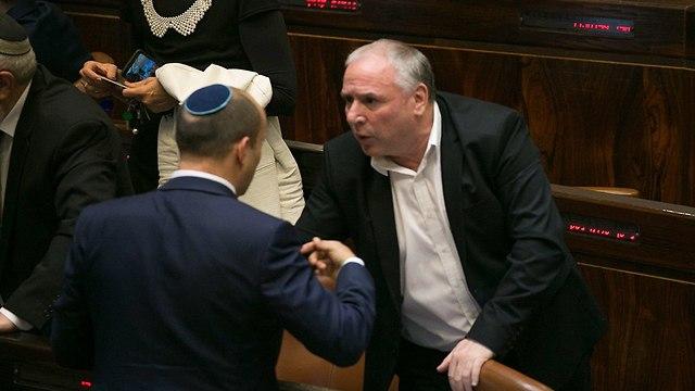 דיון במליאת הכנסת (צילום: אוהד צויגנברג)