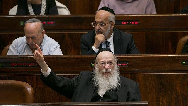 Deputy Health Minister Yaakov Litzman (Photo: Ohad Zwigenberg)