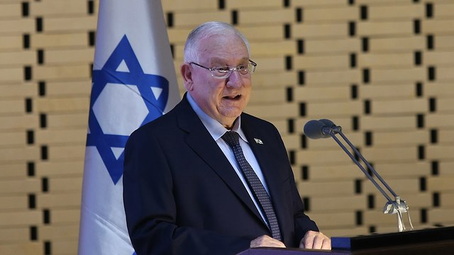 President Rivlin (Photo: Alex Kolomoisky)