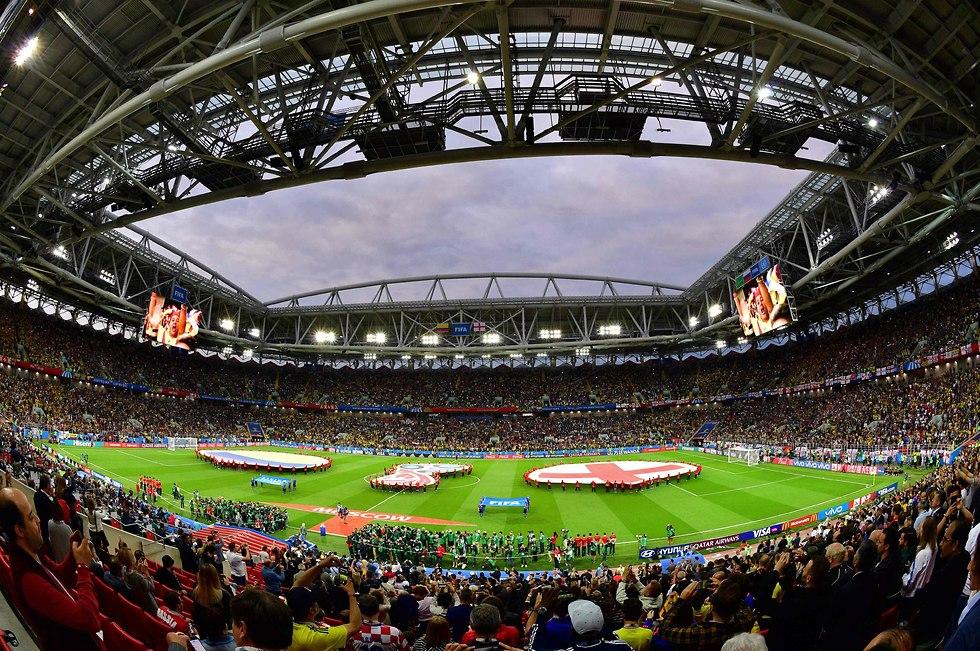 האצטדיון במוסקבה (צילום: AFP)
