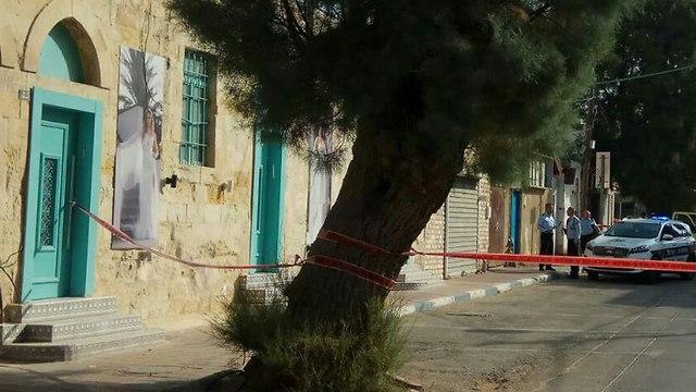 גבר נמצא ללא רוח חיים בבאר שבע (צילום: דוברות המשטרה)