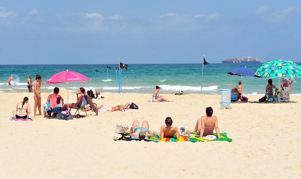 חוף הקשתות אשדוד (צילום: shutterstock)