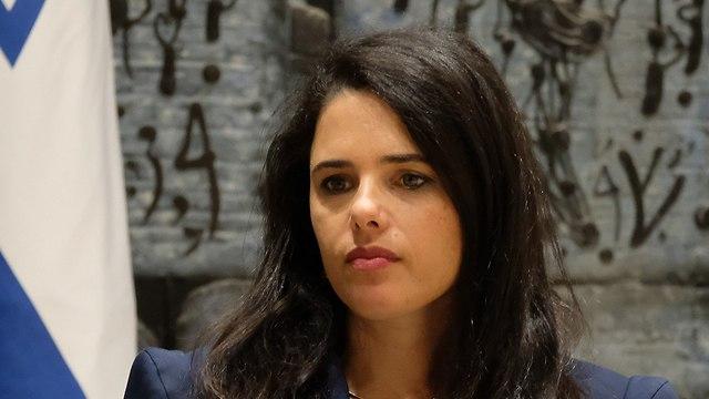 Minister Ayelet Shaked (Photo: Yoav Dudkevitch)