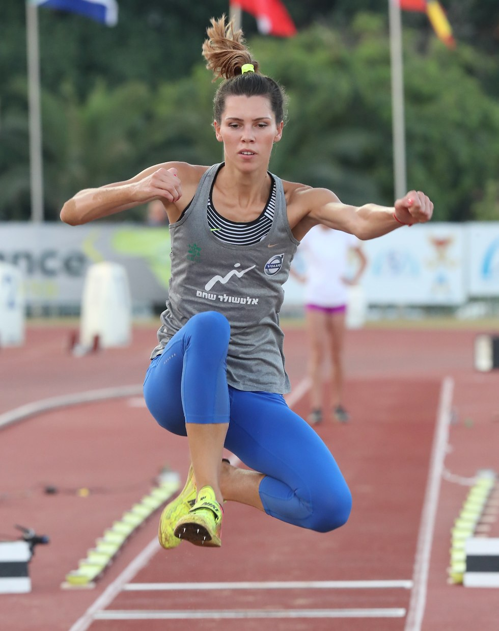 חנה מיננקו באליפות ישראל (צילום: אורן אהרוני)