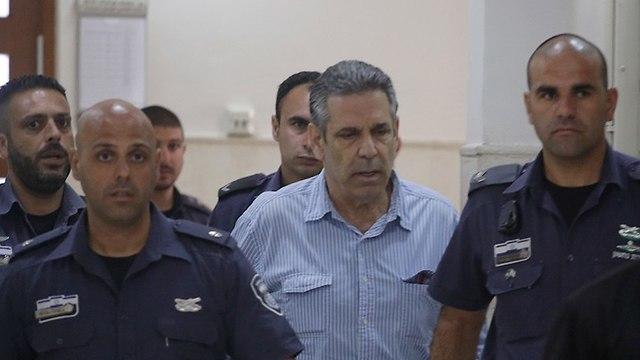 Gonen Segev arrives in court (Photo: Olivier Fitoussi)