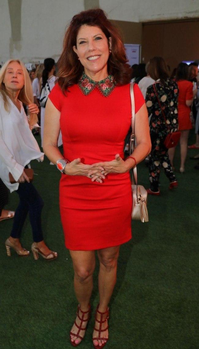 יש לנו הרגשה שאת אוהבת את הצבע אדום. ג'ודי שלום ניר מוזס (צילום: רפי דלויה)