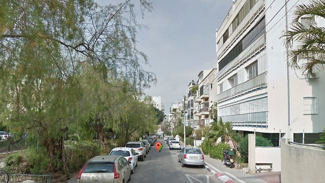 רחוב חיסין תל אביב (צילום: google street view)