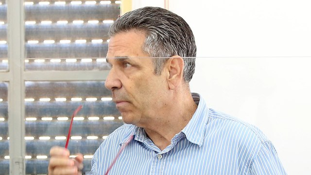 Gonen Segev in court (Photo: Amit Shabi)