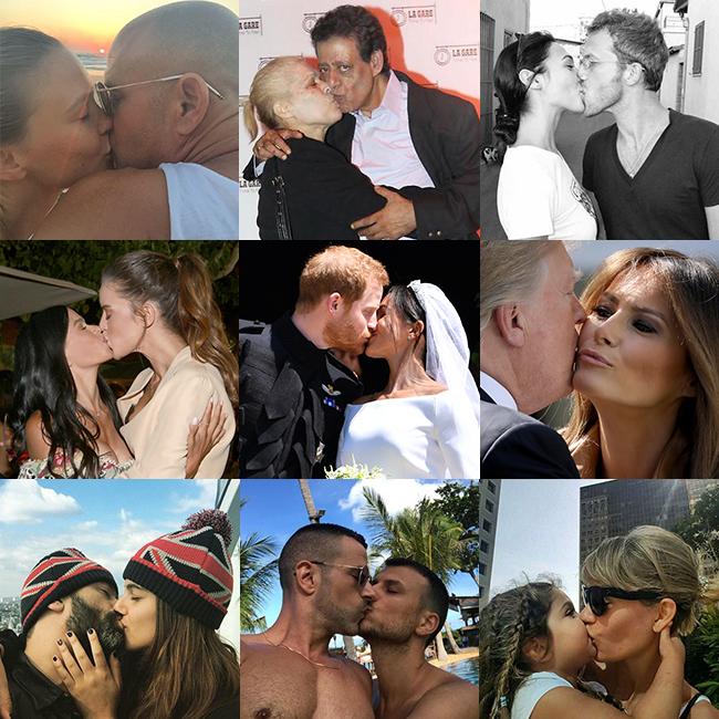 חתום בנשיקה (צילום: gettyimages, צילום מסך)