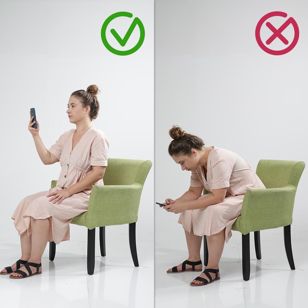 שימוש מזיק בטלפונים חכמים (צילום: ירון ברנר)