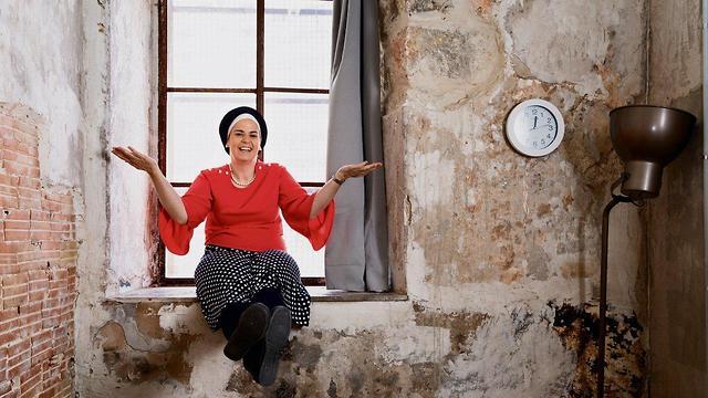 יהודית אברהמס (צילום: אלכס קולומויסקי)