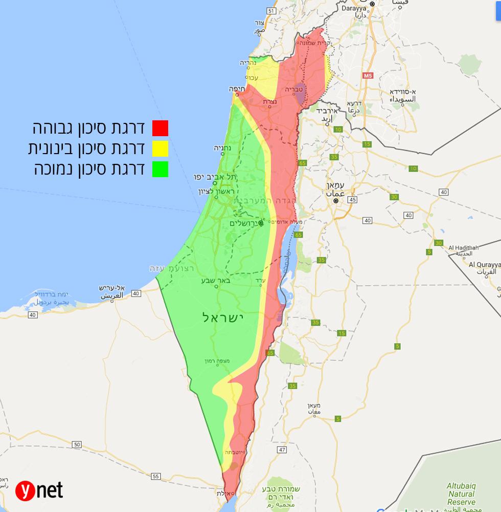 מפה רעידת אדמה  ()