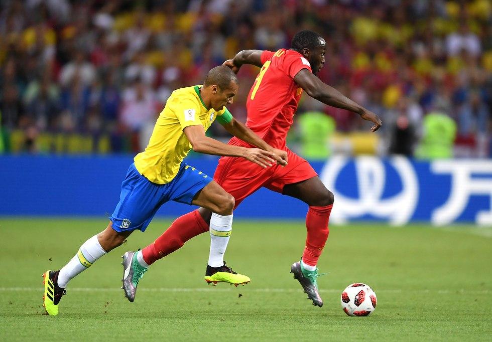 רומלו לוקאקו נבחרת בלגיה (צילום: gettyimages)