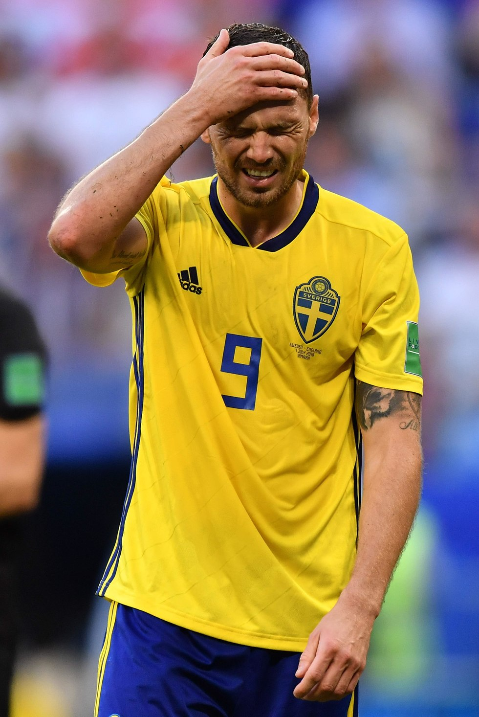 מרקוס ברג מאוכזב (צילום: AFP)