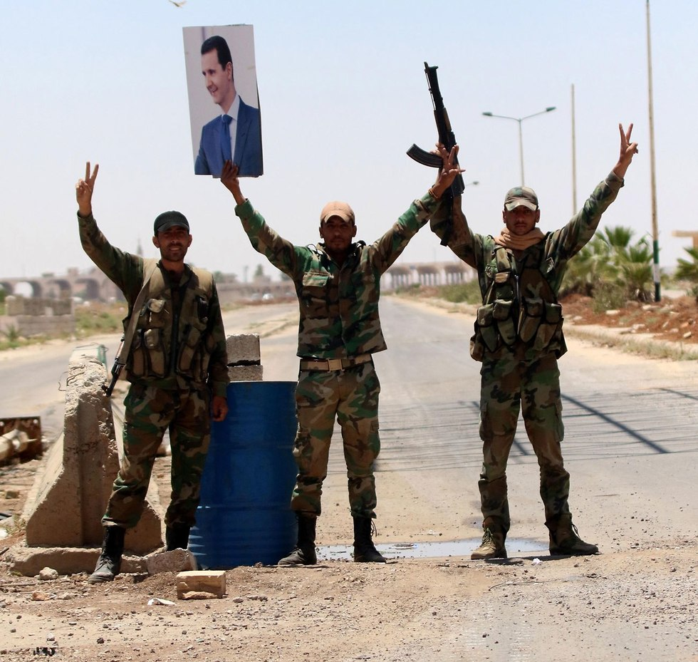 Syrian regime soldiers (Photo: EPA)