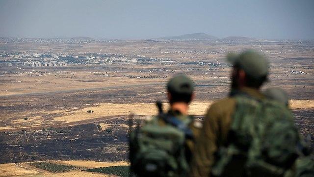 חיילים ברמת הגולן (צילום: רויטרס)