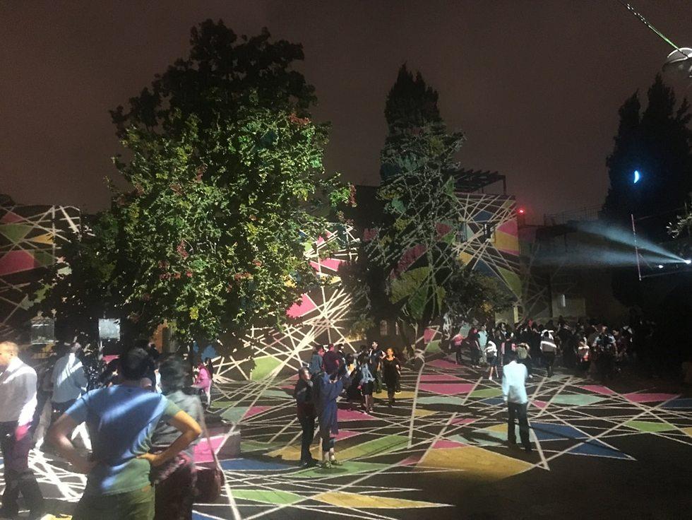 פסטיבל האור (צילום: גלעד כרמלי)