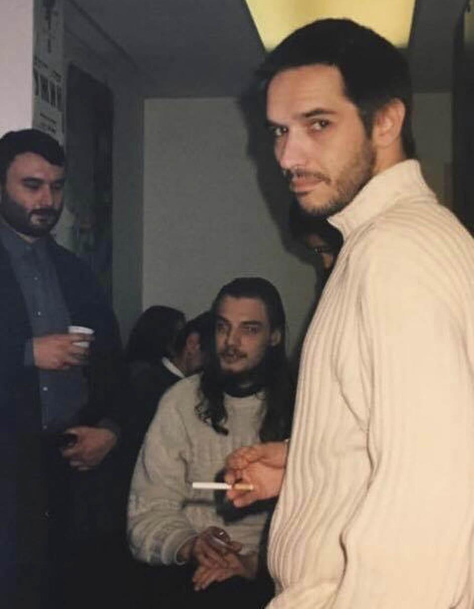 В студии Артемия Лебедева, 1998 г.  Антон Носик, Николай Данилов, Дима Ицкович. Фото: Игорь Рубинштейн
