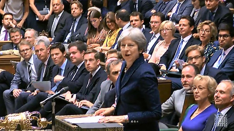 May in Parliament  (Photo: AFP / PRU )