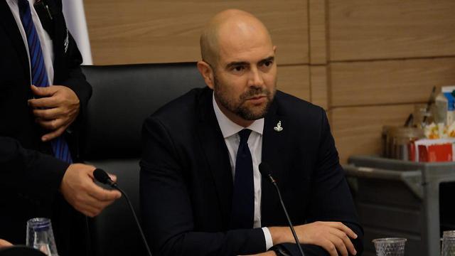 Justice Minister Amir Ohana (Photo: Yoav Dudkevitch)