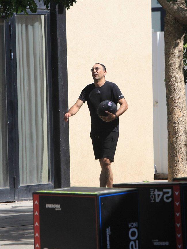 למה אף אחד לא יכול להתאמן ולהראות מבסוט? (צילום: מוטי לבטון)