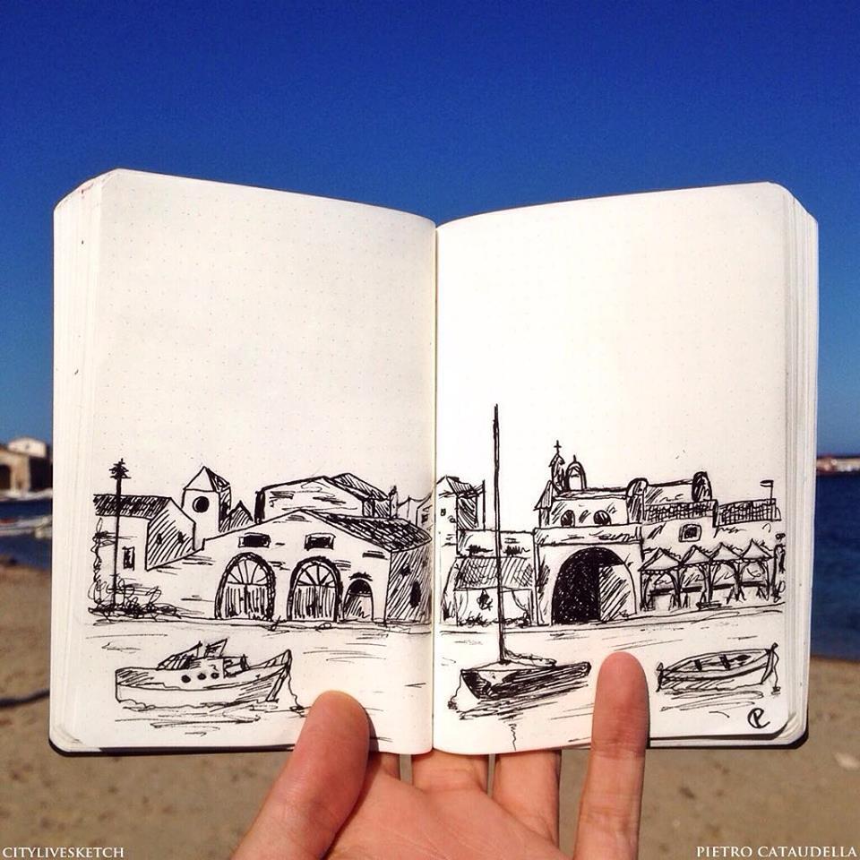 CityLiveSketch (מתוך עמוד הפייסבוק CityLiveSketch)