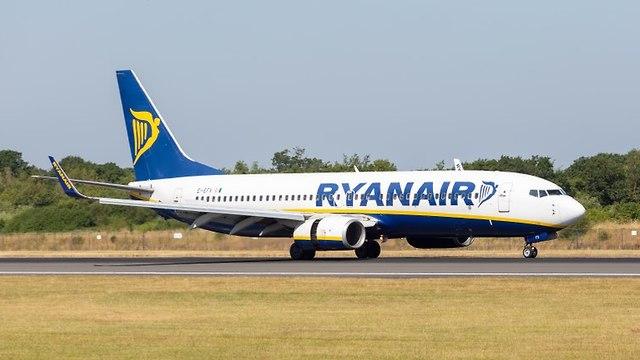 מטוס ריינאייר (צילום: shutterstock)